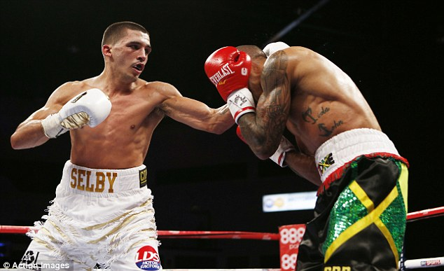 One to watch: Welshman Lee Selby is one of the rising stars of British boxing