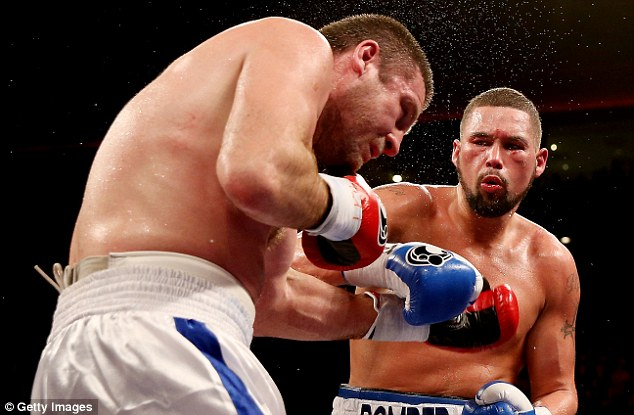 Fine start: Tony Bellew began his cruiserweight campaign with a stoppage victory over Valery Brudov