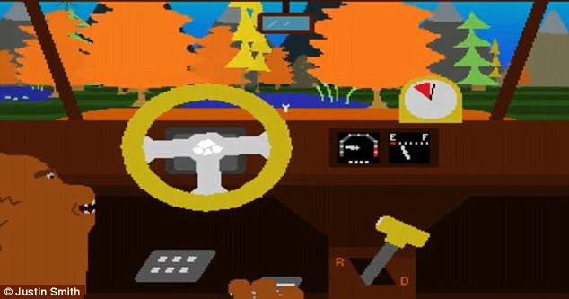 Enviro Bear 2000, released in 2009, pictured, lets players drive a car as a bear and is available for Windows as well as in the form of an Android app, called Enviro Bear 2010