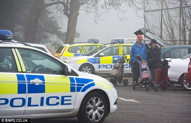 Discovery: A spokesman for Dorset Police said last night that officers had found 'additional human remains'
