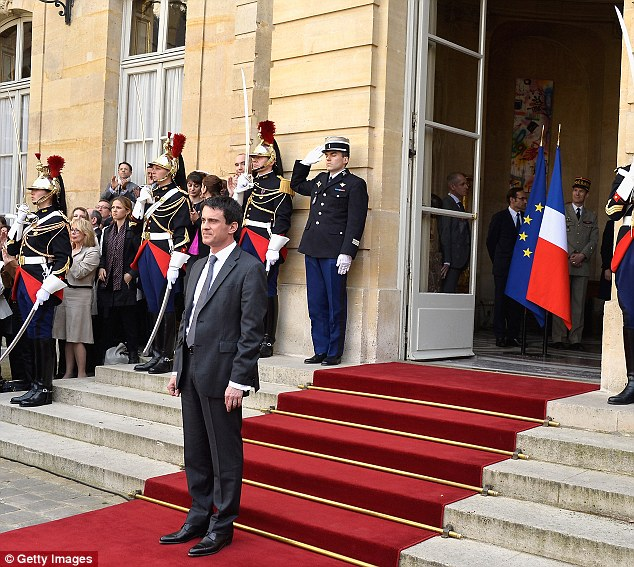 Valls, 51, took over as President Francois Hollande's prime minister from Jean-Marc Ayrault after their Socialist Party took a drubbing in weekend municipal elections