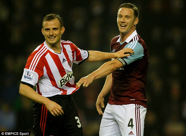 Praise: West Ham captain Kevin Nolan has praised Sam Allardyce and hopes supporters will get behind him