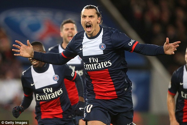 In his prime: Ibrahimovic has been the focal point of the rebirth of Paris Saint-Germain in recent years