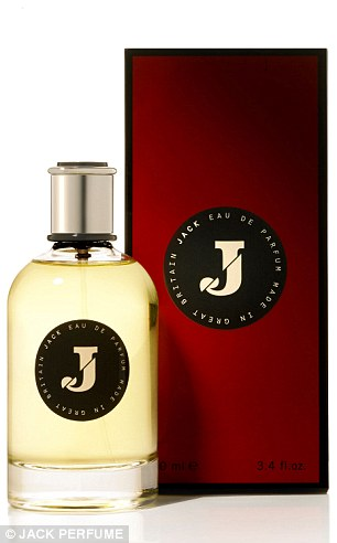 Richard E Grant's new fragrance JACK is available exclusively at Liberty