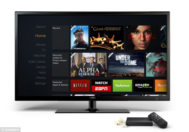A large part of Android TV's functionality will similar to that of the Apple TV as well as similar set-top boxes from Amazon (pictured) and Roku
