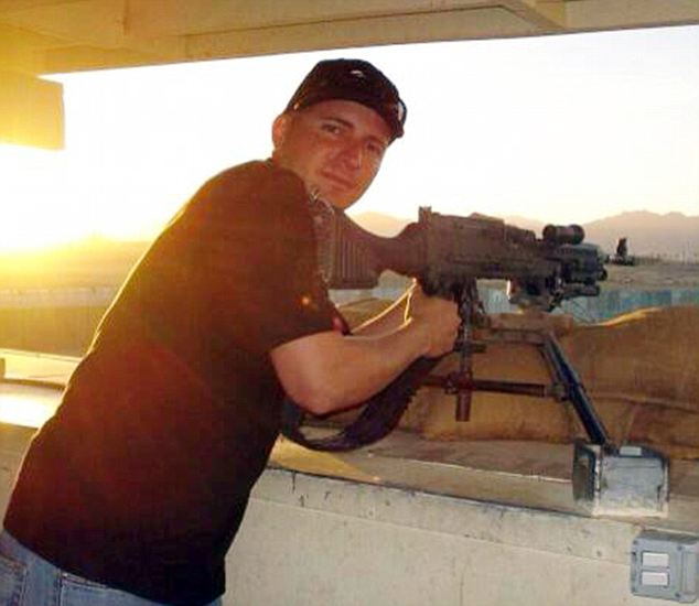 Shooter: Ivan Lopez, seen in this undated photo, has been identified as the soldier who opened fire on Fort Hood army base on Wednesday killing three and injuring 16 others before turning the gun on himself