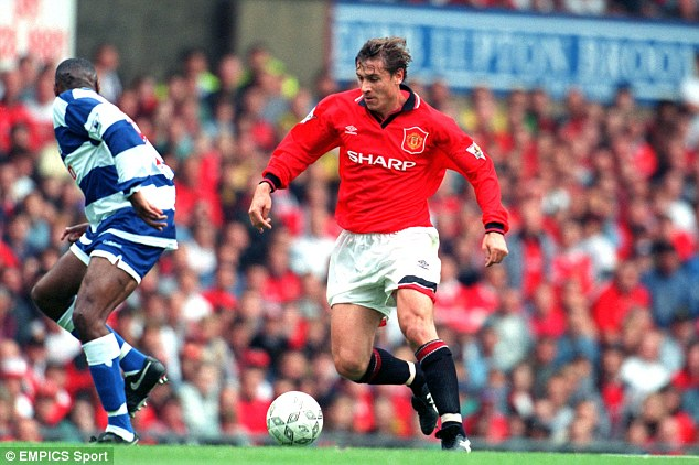 Put to the vote: A 1995 poll after United sold Mark Hughes and Andrei Kanchelskis (below) found that a majority of fans wanted Alex Ferguson sacked