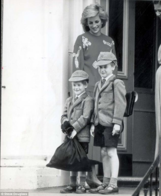 Alumni: The children at the private school, formed as a sister school to Wetherby Pre-Prep where Princes William and Harry were pupils, were set the challenge of improving their manners after Mr Baker spotted two students being rude