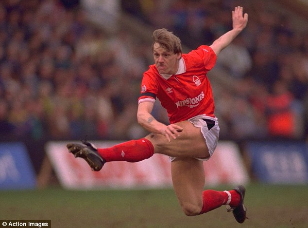Flying high: Pearce admitted that former side Nottingham Forest are a club that's very close to his heart