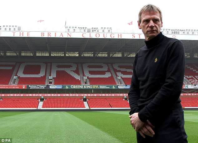 Return: Stuart Pearce has been named the new manager of Nottingham Forest and will take charge in July
