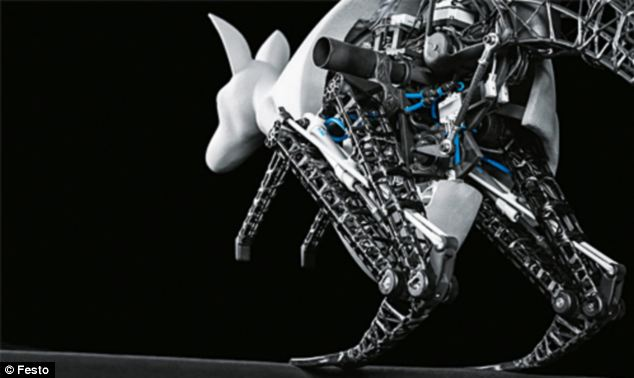 For the past two years, the German group Festo has been secretly working emulating the jumping behaviour of the kangaroo in robot form