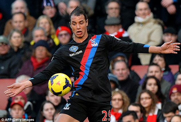 Return: Palace's forward line will be given a well-timed boost with the return of Marouane Chamakh
