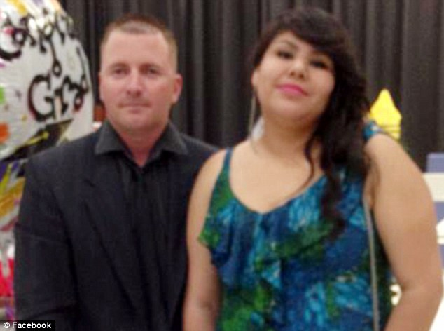 Tragedy: Pictured are Ivan Lopez and Karla Lopez - the woman believed to be his wife. Ivan Lopez opened fire at Fort Hood military base on Wednesday, killing three and injuring 16 before taking his own life