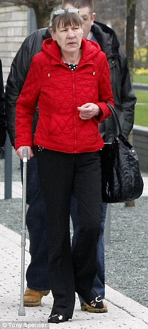 Tears: Kathleen Thompson gave evidence on the fourth day of fresh inquests in Warrington