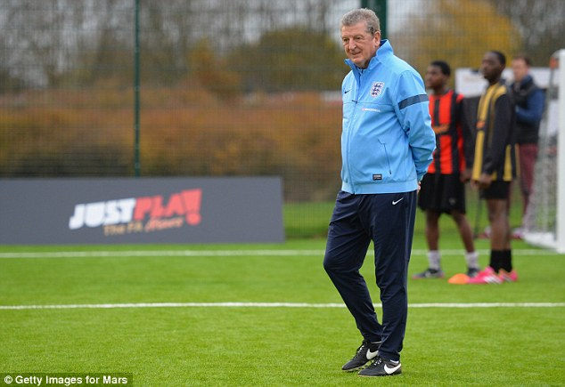 Getaway: Hodgson will take an England training camp in Portugal after the FA Cup final