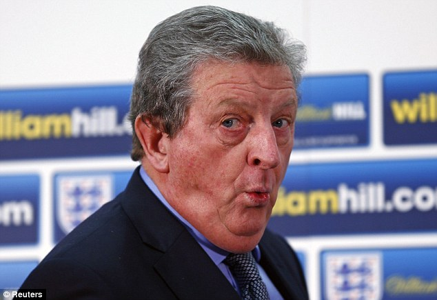 Unorthodox: Roy Hodgson will name a 23-man squad instead of a provisional 30 ahead of the World Cup
