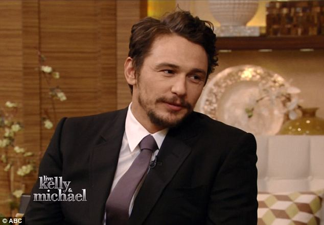 Coming clean: James Franco admitted that he did try contacting her on Instagram and asked her to meet him at a hotel only to find out that she was a 17-years-old schoolgirl