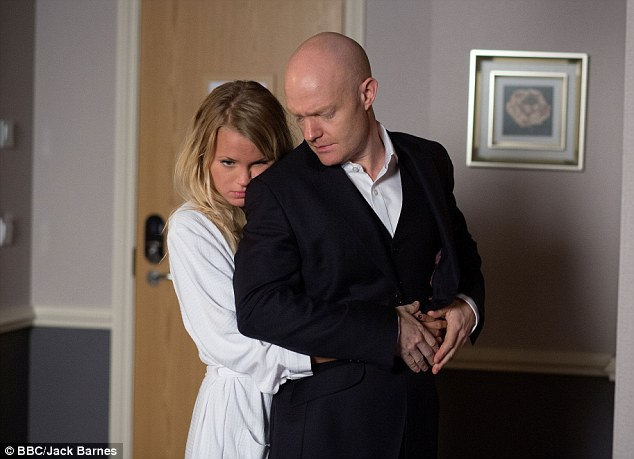 Lover's spat? Now that Max Branning has been revealed as Lucy Beale's secret lover, he could be one of the prime suspects in her upcoming murder on EastEnders