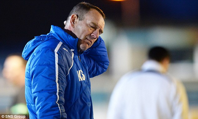 On his way? Kenny Shiels has been linked with the Linfield post