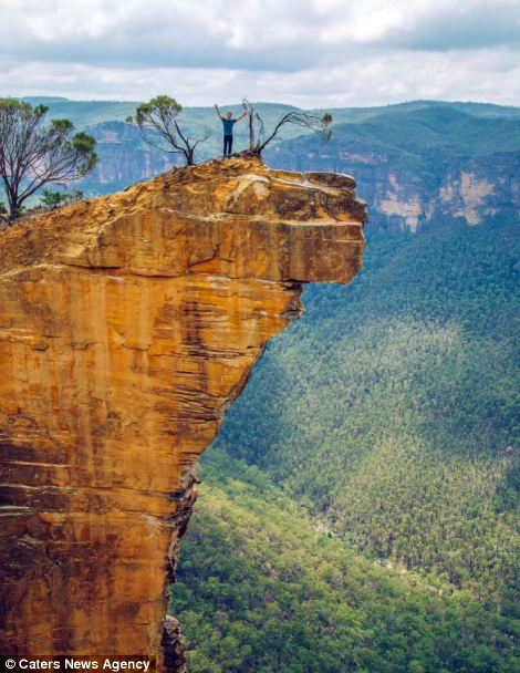 Andrew is lucky enough to get paid to explore the Blue Mountains in New South Wales