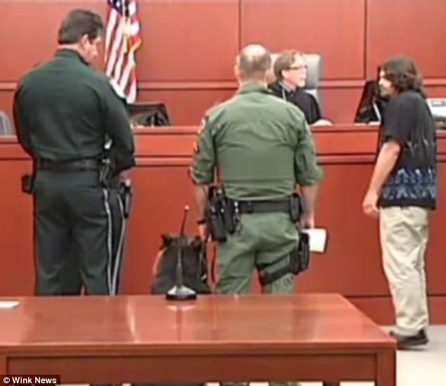 Not the first: In 2012, a German Shepherd was served a subpoena in Charlotte County, Florida