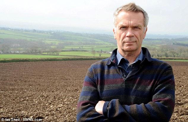 Devon farmer Tony Dallyn, 54, of Loosedown Barton, near Winkleigh, turned down £1million for wind turbine