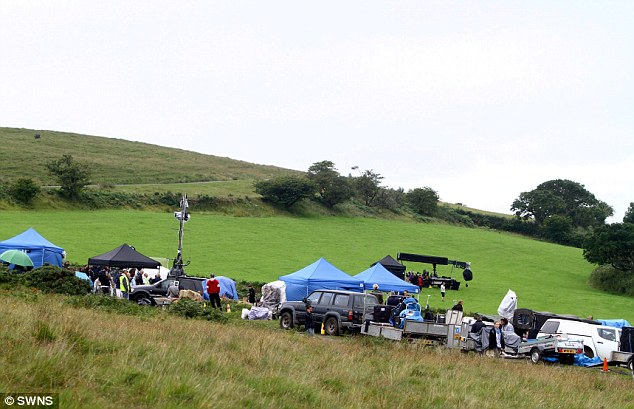 Rolling hills: Michael Morpugo's book, which became a theatre production and a movie, was filmed in Devon