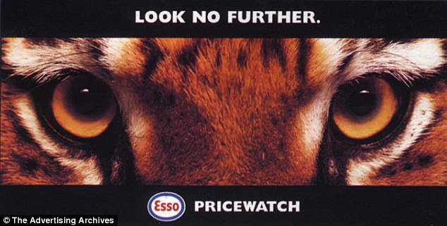 Fuelling the marketing campaign: Esso also ran this series of magazine adverts in the 2000s