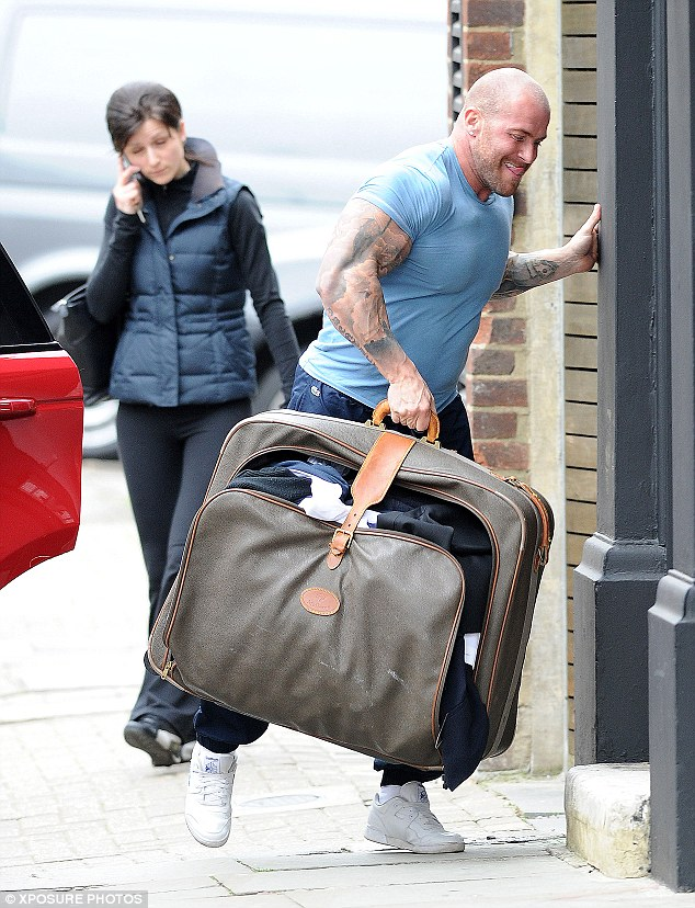 Excess baggage: The reality TV personality needed a helping hand