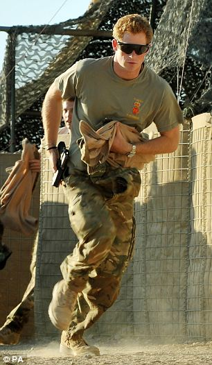 Prince Harry in Afghanistan in 2012: The 3 Regiment Army Air Corps (AAC) - the prince's unit - is embarking on a final Afghanistan tour under strength