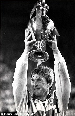 Following in famous footsteps: Kenny Dalglish steered Liverpool to their last league title