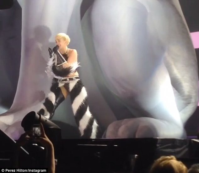 Sharing her grief: Miley seems to find sharing her grief with her fans helpful as she struggles to cope