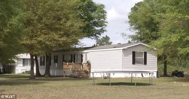 Scene of the tragedy: Jowers was shot dead in this Waycross home, police said
