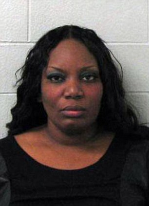 Guilty: LaTangela Williams, pictured, has been jailed and was also told she faces three years of probation for having sex with her students