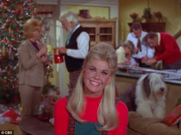 Living legend: Day made her last film in 1968 and her final TV appearance was on her CBS sitcom The Doris Day Show back in 1973