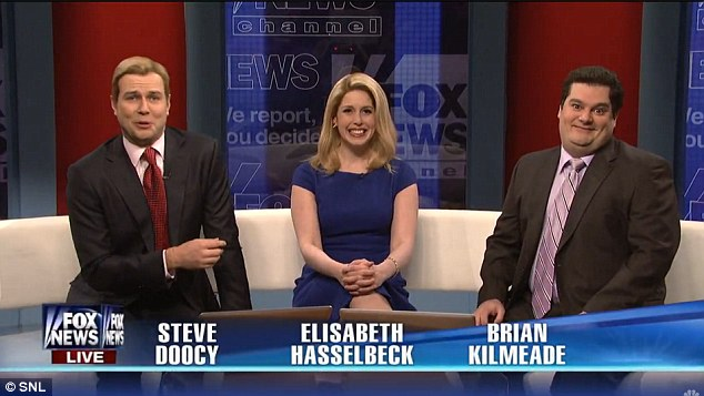 Skit: SNL regulars Vanessa Bayer, Taran Killam and Bobby Moynihan played the Fox & Friends team