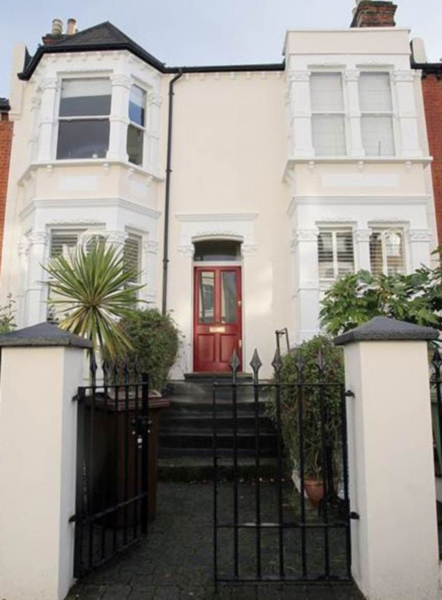 This is the house in Wimbledon, south London, which Mrs Miller owned for 19 years, claiming expenses to pay the mortgage for four years, before selling it for £1.4million