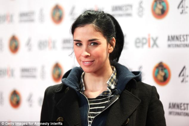 Actress Sarah Silverman is among those believed to have signed up to Microsoft's TV shows. It is believed the firm has six projects approved, with a dozen in development.