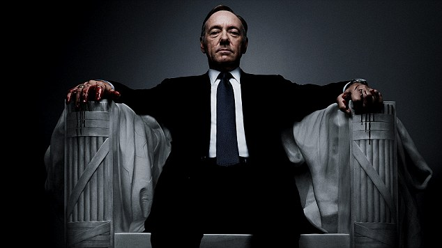 'House of Cards': The Kevin Spacey-starring Netflix series has become the standard for online television shows