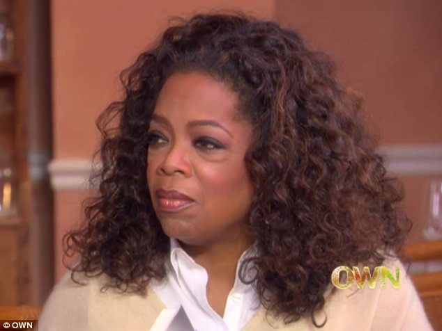 Opening up: The 50-year-old also told Oprah that he 'loved' rehab and needed to understand the science of his addiction in order to beat it