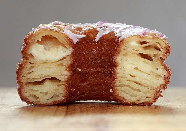 Appetite ruined? The bakery became world-famous last year after introducing the Cronut, a croissant/doughnut hybrid. Department of Health officials say they found several mouse droppings on the floor at the bakery