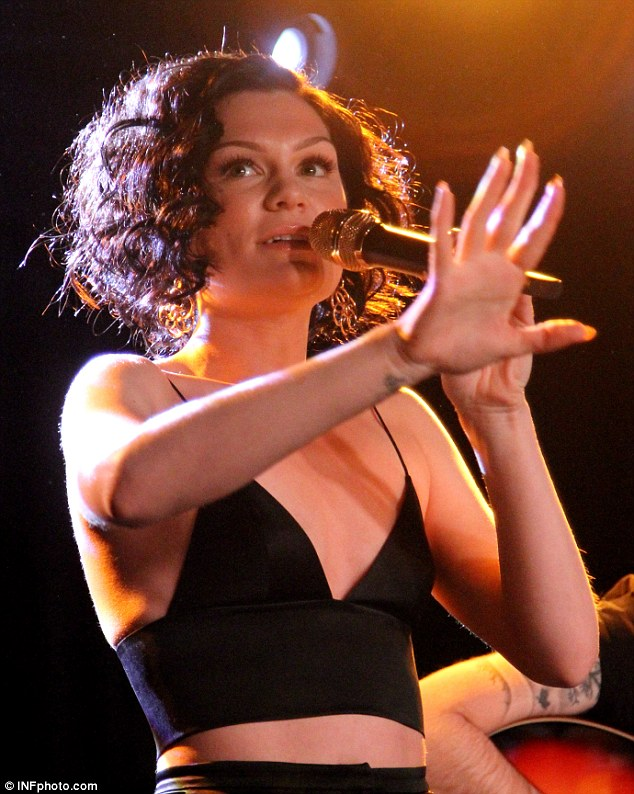 Jessie J performs an intimate acoustic gig on her birthday at Oslo Bar, East London
