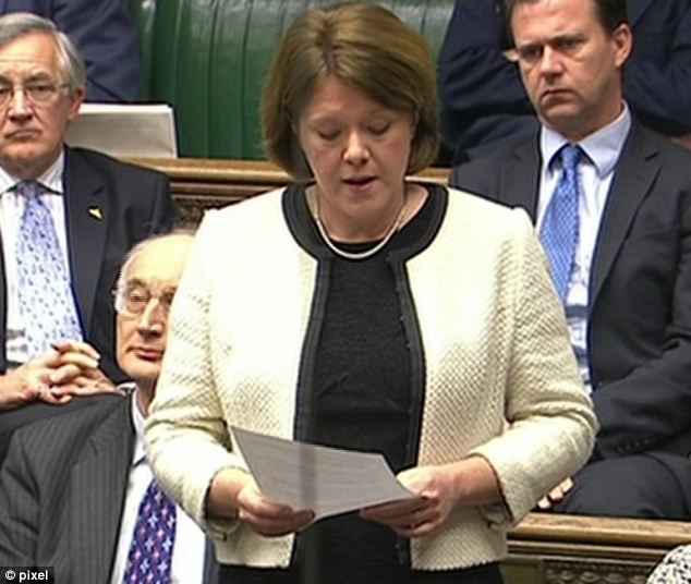 Formal apology: Mrs Miller was ordered to repay £5,800 and apologise to the Commons (pictured) last week.