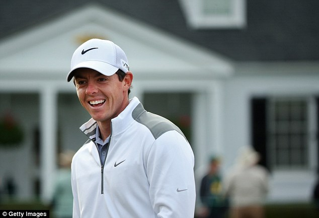 High hopes: Rory McIlroy is in a good place ahead of the Masters and says has no excuses not to perform