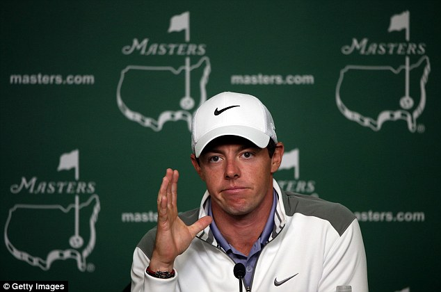 Veteran: When he lines up in his first round group 24-year-old McIlroy will be the most senior player