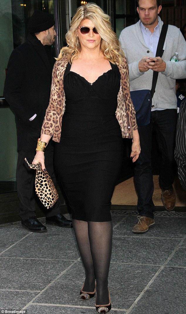 She wears it well: Kirstie still looks great, she just wants to shape up