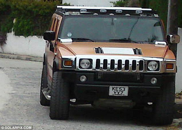 Police have now recovered the Hummer which Miss Kukucova is believed to have fled in, but are still hunting for a Slovak woman in her mid-20s