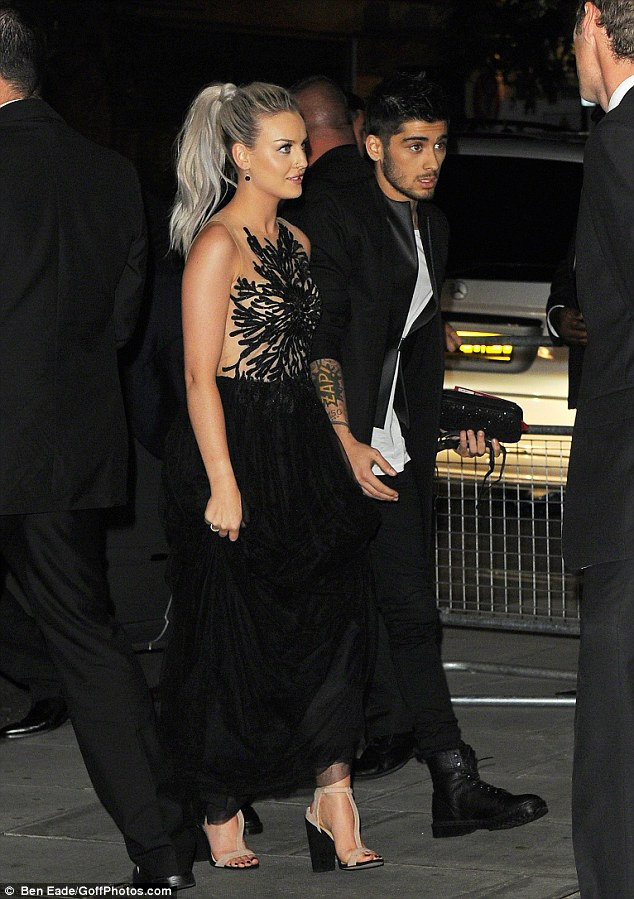 Following their film premiere, the One Direction boys are seen heading to the after party - with Perrie