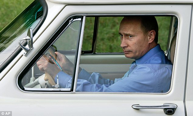 Wrong turn? Vladimir Putin has seen both the rouble and share prices in Moscow tumble since Russia's incursion into Ukraine