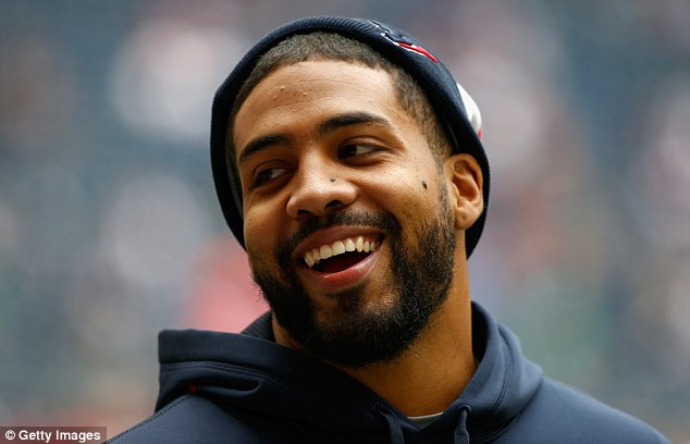 Authentic: The real Arian Foster is seen in this December 2013 photo